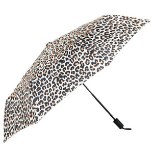 Leopard Print Umbrella - Pink Julep Boutique
