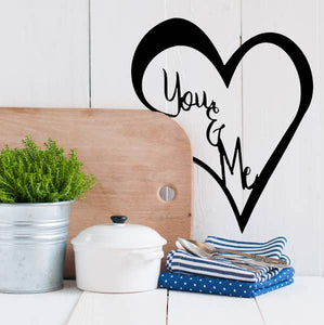 Heart You & Me Sign - Pink Julep Boutique