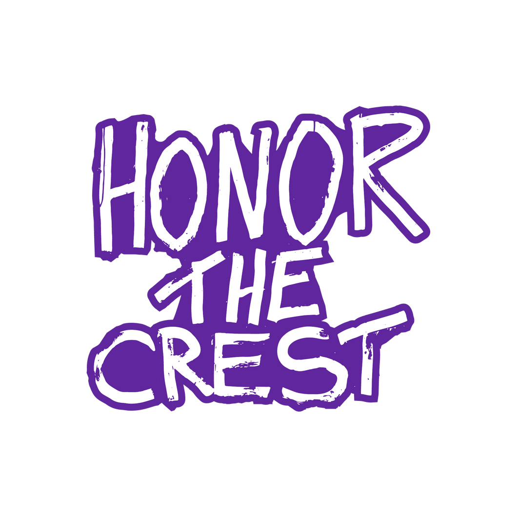 Honor The Crest Patch (Glow in the Dark)