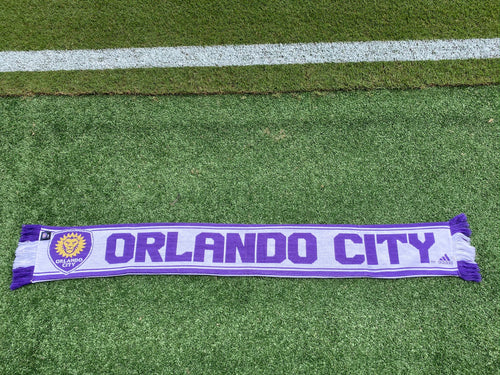 Orlando City Authentic Coaches Scarf