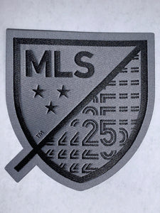 MLS 25th Anniversary Patch- Grey