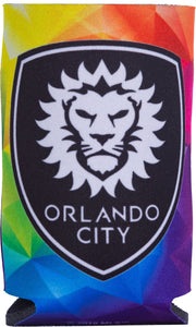 Orlando City Rainbow Koozie