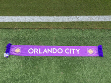 Load image into Gallery viewer, Orlando City Camo Scarf- Purple/Yellow