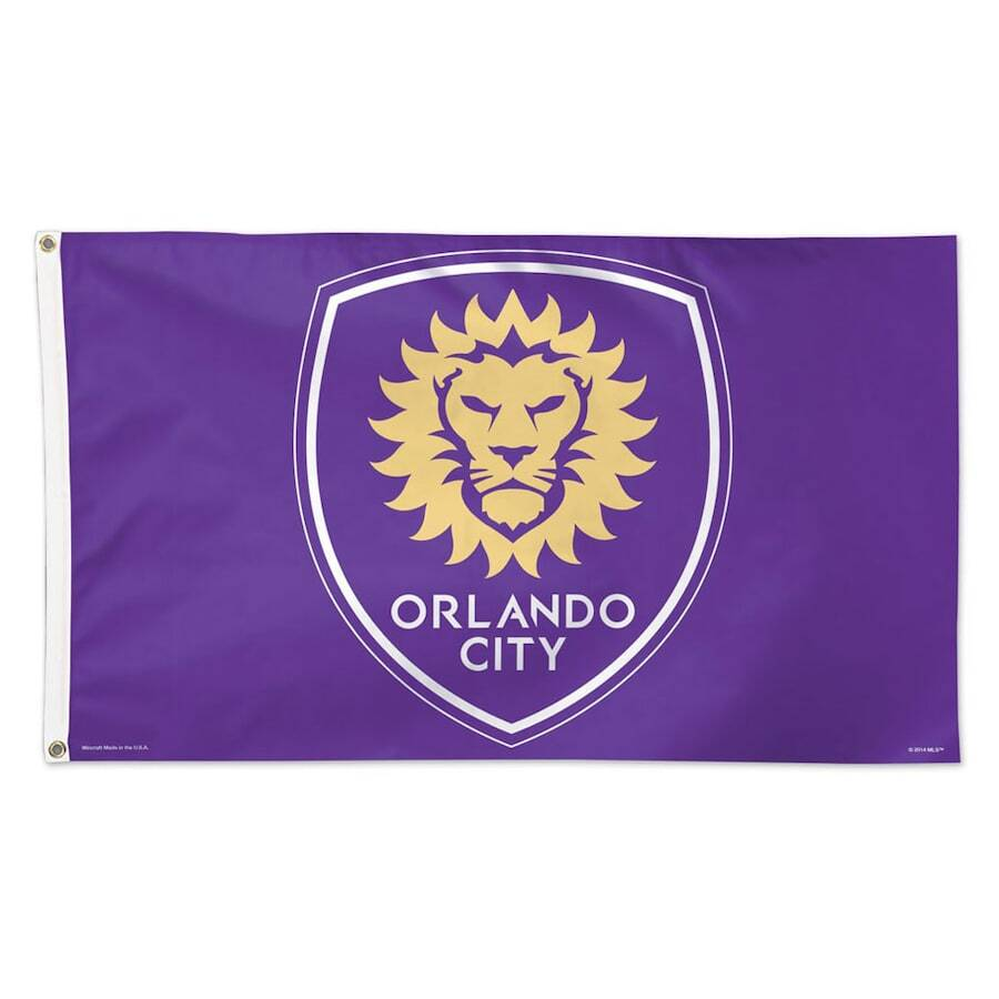 Orlando City SC WinCraft 3' x 5' Deluxe Single-Sided Flag