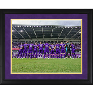 "2020 Orlando City Team Playoff Framed Picture 20"" by 16"""