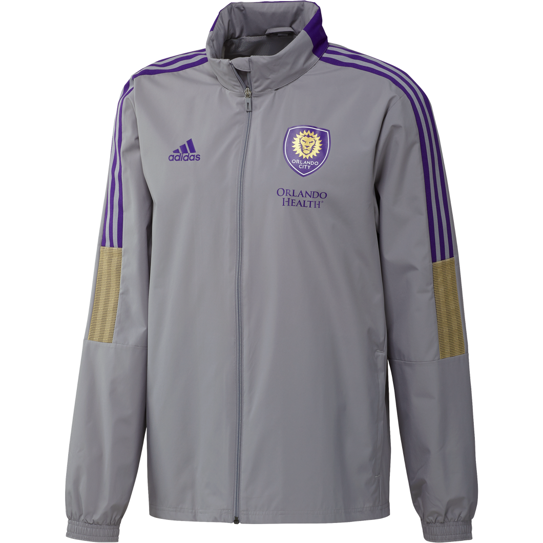 Men's Adidas Allweather Jacket - Grey