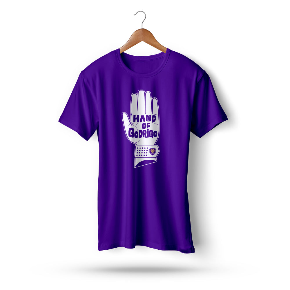 Hand of GodRigo Men's Short Sleeve Tee - Purple