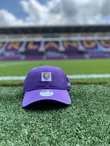 Women's Orlando City Sleekest Fan Adjustable Hat- Purple