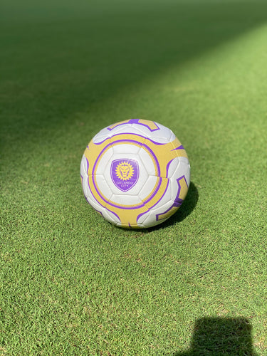 Orlando City Baden Size 5 Soccer Ball- White