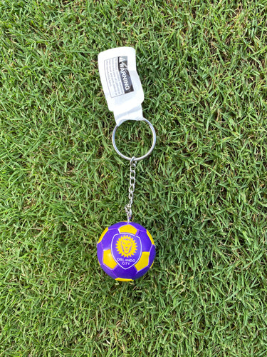 Orlando City Ball Keychain