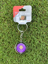 Load image into Gallery viewer, Orlando City & Pride Spinner Key Ring