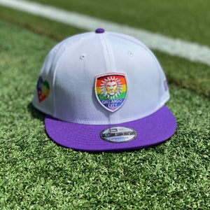 Orlando City Pride Snapback Hat- White