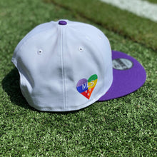 Load image into Gallery viewer, Orlando City Pride Snapback Hat- White