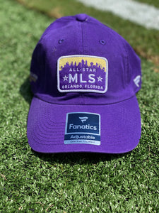 MLS Allstar Game Orlando Skyline Adjustable Hat- Purple