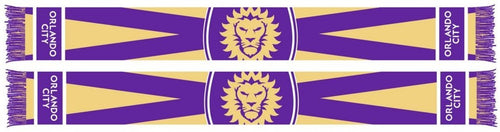 Orlando City State Scarf- Purple/Yellow