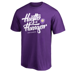 2020 Orlando City Playoff Slogan Tee- Purple
