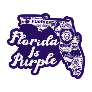 Florida Is Purple Patch