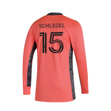 Load image into Gallery viewer, Schlegel Goalkeeper Long Sleeve Jersey- Coral
