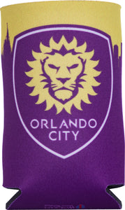 Orlando City Skyline Koozie