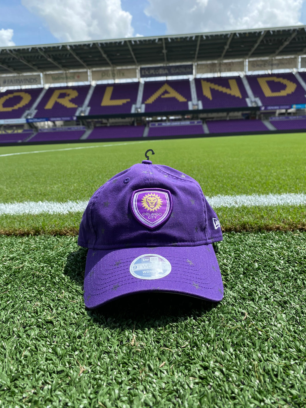 Women's Orlando City Star 9TWENTY Adjustable- Purple