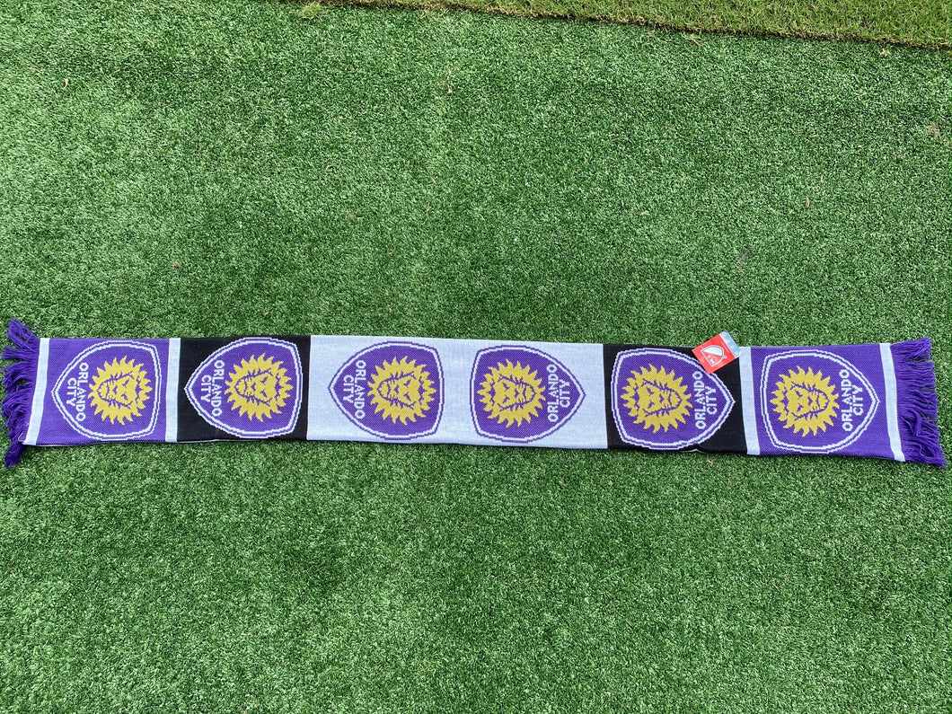 Orlando City Repeating Crest Scarf