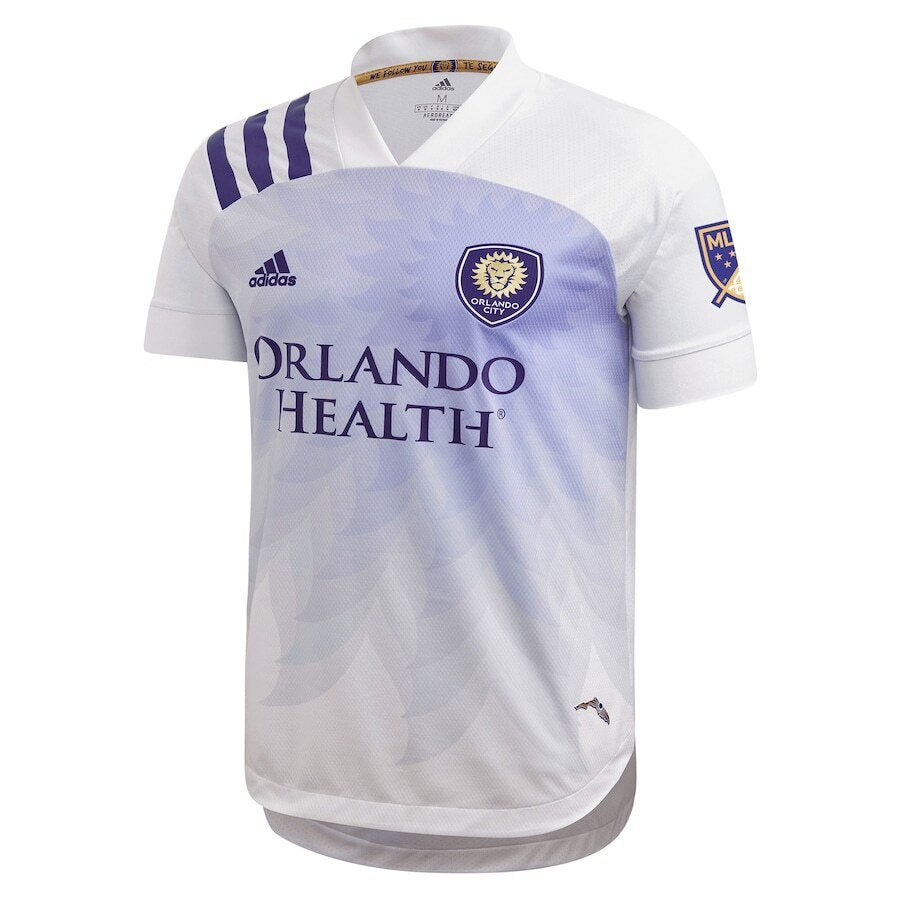 Men's Orlando City SC Chris Mueller Adidas White 2020 Heart and Sol Replica Jersey