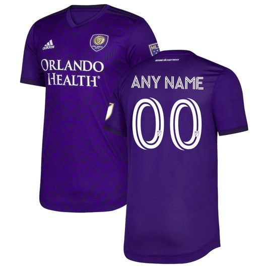 Custom 2020 Bring the Noise Kit Men's Adidas Authentic Purple