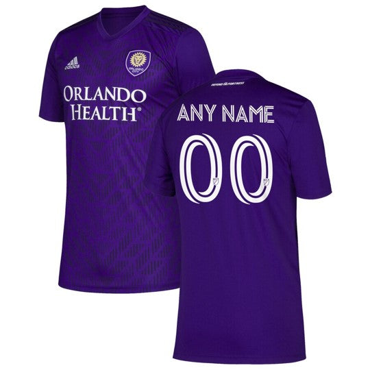 Custom 2020 Bring the Noise Kit Men's Adidas Replica Purple