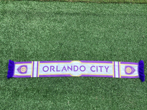 Orlando City Gold Lion Scarf