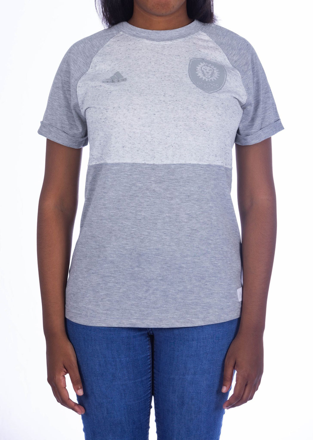 Women's Orlando City SC adidas Gray Club Top T-Shirt