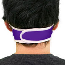 Load image into Gallery viewer, Adult Orlando City SC Checkered Wrap Face Covering