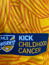 Load image into Gallery viewer, Men's Adidas Kick Childhood Cancer Jersey - Yellow