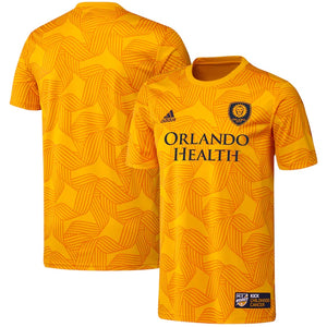 Men's Adidas Kick Childhood Cancer Jersey - Yellow