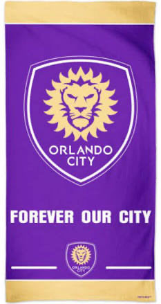 Orlando City Beach Towel