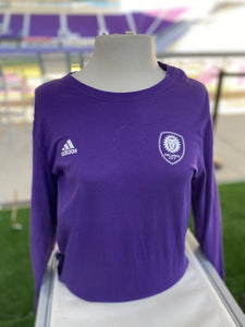 Youth (Y8) Adidas Foundry Long Sleeve - Purple