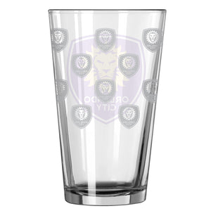 Orlando City SC 16oz. Satin Etch Pint Glass