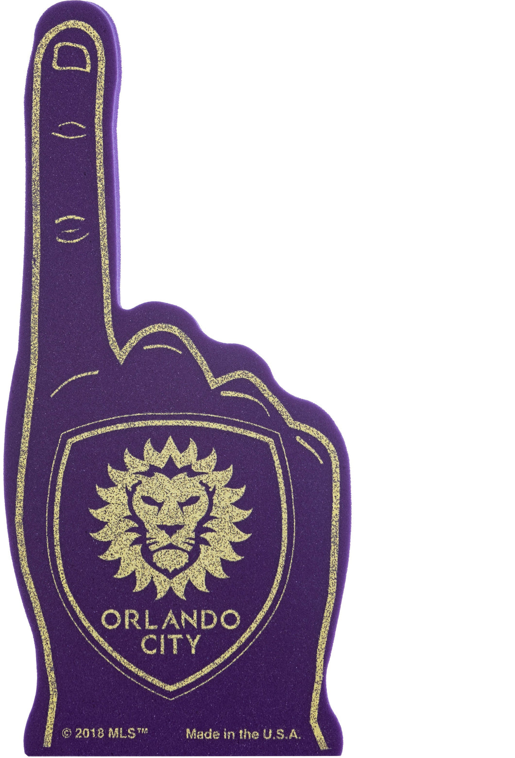 Orlando City Foam Finger