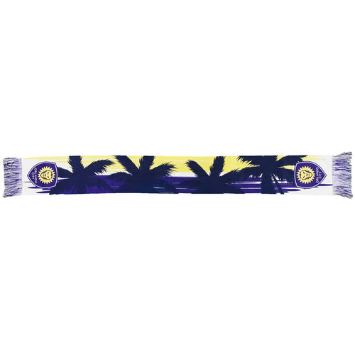 Orlando City SC Purple Palm Summer Scarf