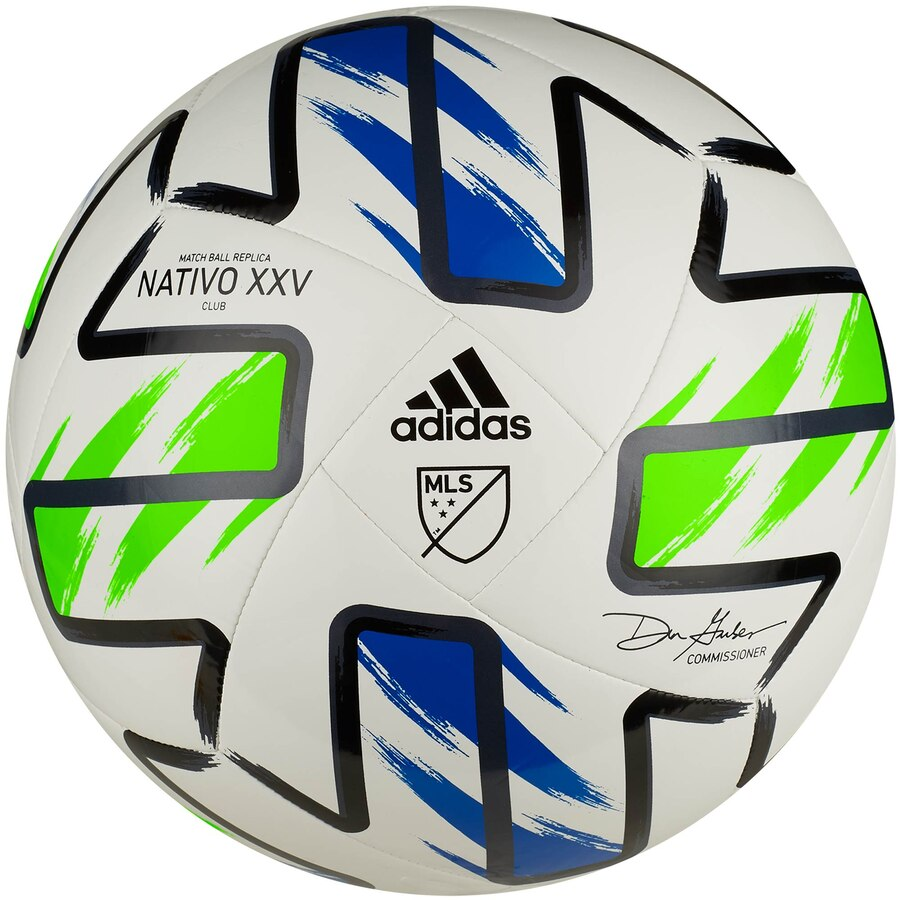 MLS adidas 2020 NATIVO XXV Club Soccer Ball