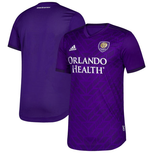 Men's Orlando City SC adidas Purple Bring The Noise Authentic Team Jersey