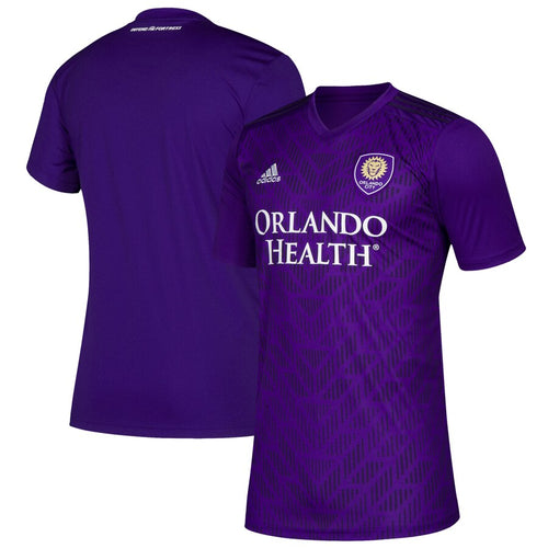 Men's Orlando City SC adidas Purple Bring The Noise Replica Team Jersey