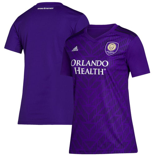 Women's Orlando City SC adidas Purple Bring The Noise Replica Team Jersey