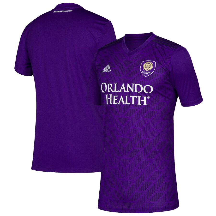 Youth Orlando City SC adidas Purple 2019 Bring The Noise Replica Team Jersey