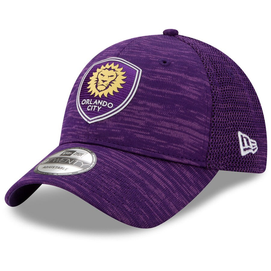 Men's Orlando City SC New Era Purple On-Field Collection 9TWENTY Adjustable Hat
