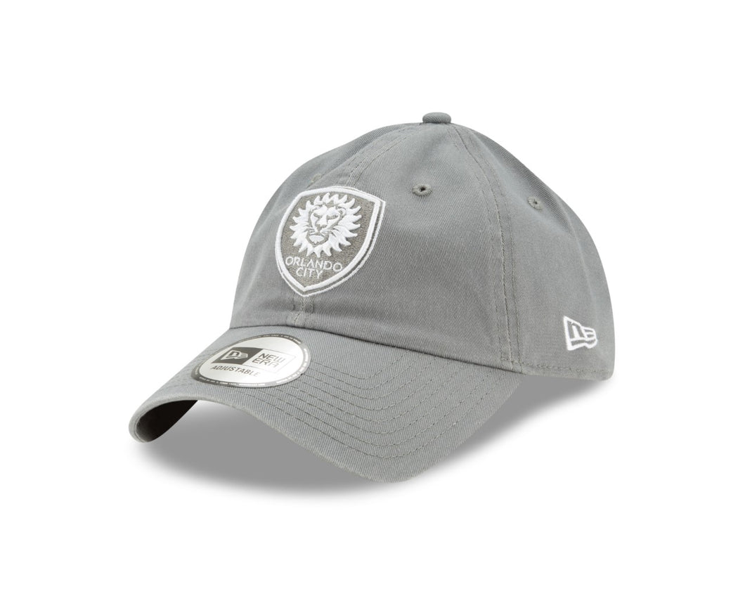 Orlando City Casual Classic 9TWENTY Adjustable Hat- Gray