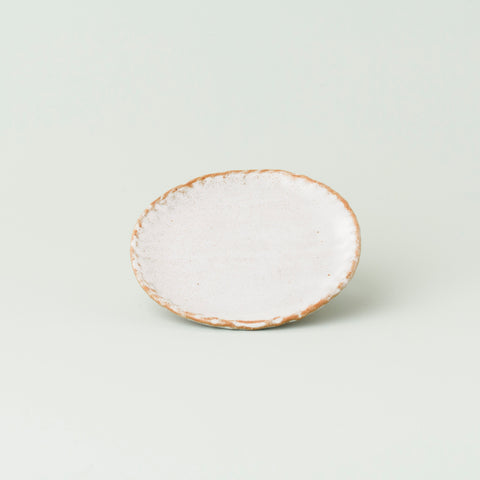 Mini Moon Plate - White