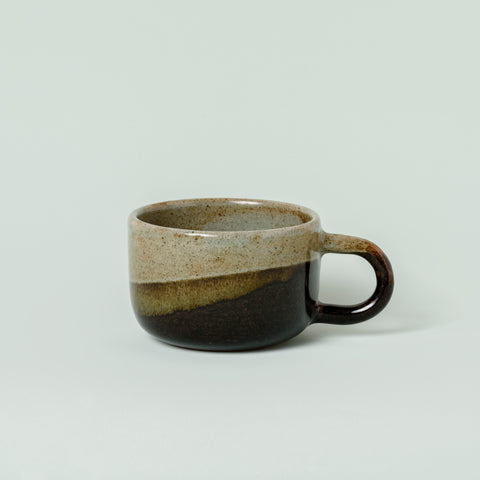 Big Mug - Green and Black