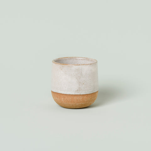 Tea Cup - Dipped White