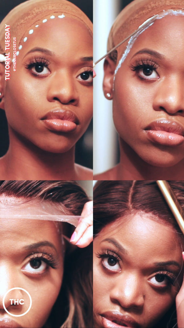 How to Install a Frontal Wig... Like a PRO!