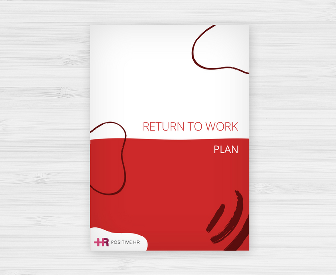 Return to Work Plan